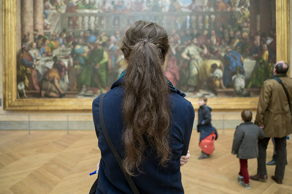 Mona Lisa, Louvre