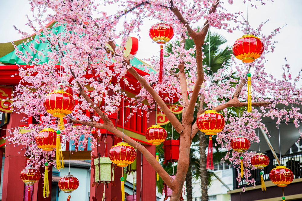 Chinese-Laterns-Wanderlust-Flowers